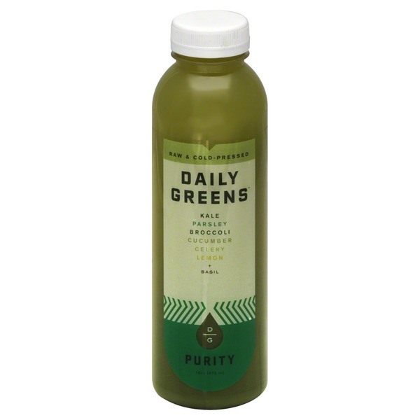 Daily Greens Juice, Raw & Cold-Pressed, Purity