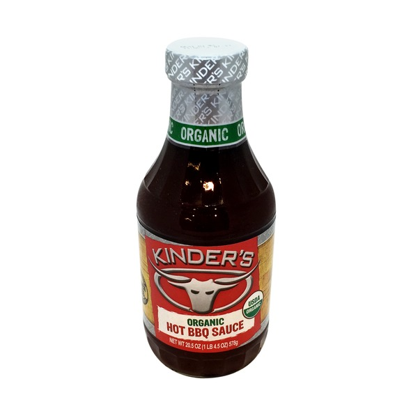 Kinder's Organic Hot Barbecue Sauce