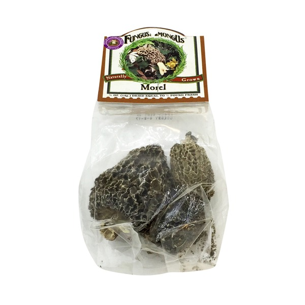 Fungus AmoungUs Dried Morel Mushrooms
