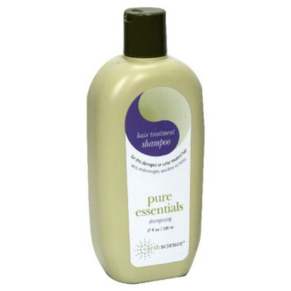 Earth Science Naturals Shampoo, Hair Treatment, Dry and Damaged Hair