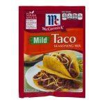 McCormick Taco Seasoning Mix Mild, 1.0 OZ