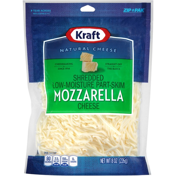 Kraft Shredded Mozzarella Cheese