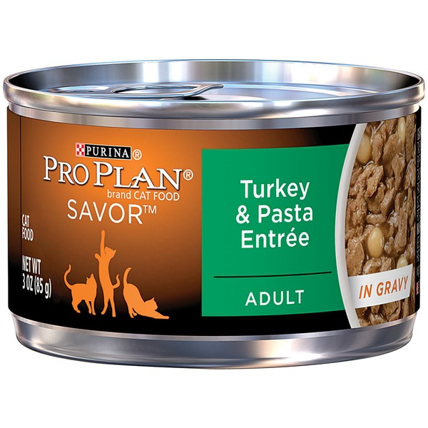 Pro Plan Cat Wet Adult Turkey & Pasta Entree in Gravy Cat Food