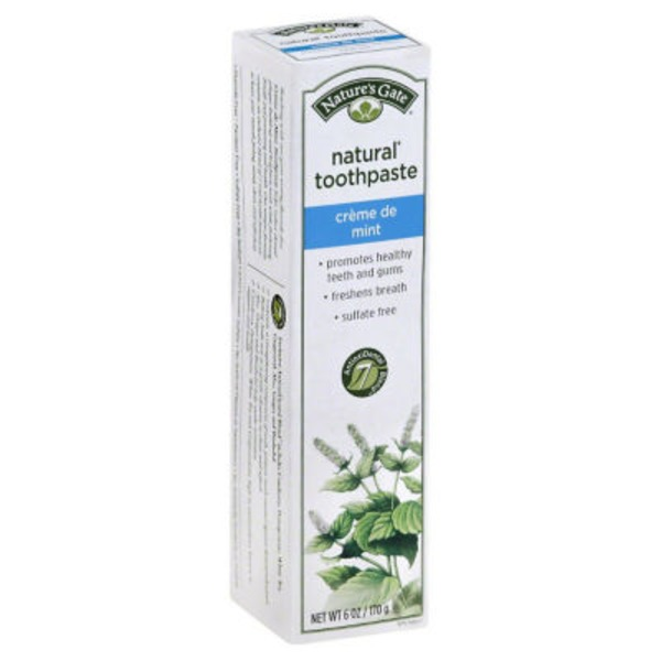 Nature's Gate Natural Toothpaste Creme De Mint