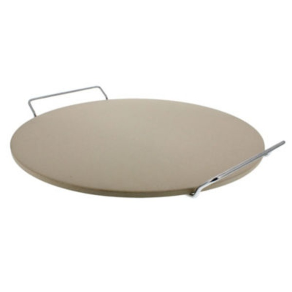 Chef Style 14.75 Inch Pizza Baking Stone & Rack