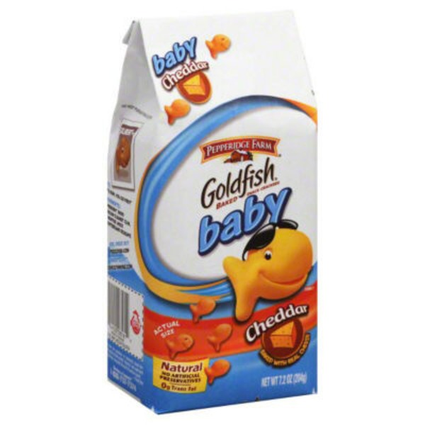 Pepperidge Farm Goldfish Cheddar Baby Baked Snack Crackers