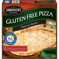 Sabatasso's Gluten Free Four Cheese Pizza