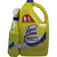 Lysol Lemon All Purpose Cleaner Trigger Spray Bottle