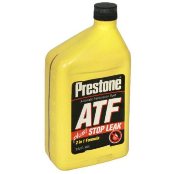 Prestone Automatic Transmission Fluid With Stop Leak 2 In 1 Formula