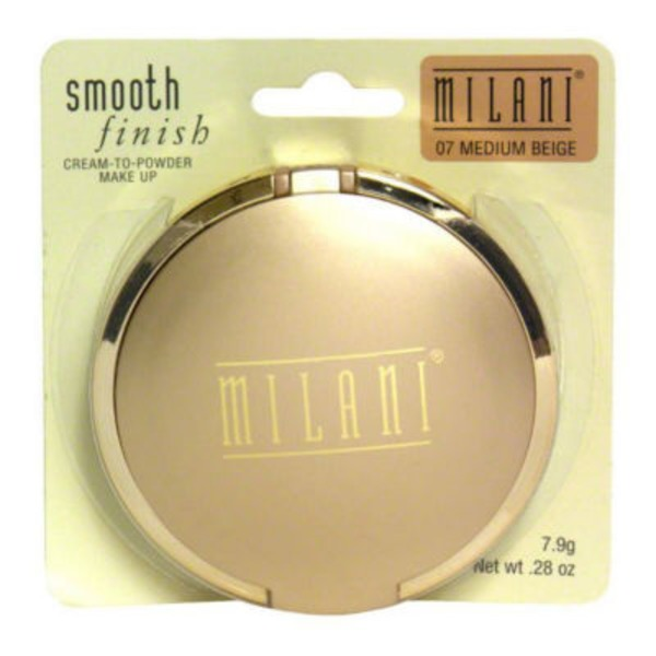 Milani Smooth Finish Cream-to-Powder Medium Beige