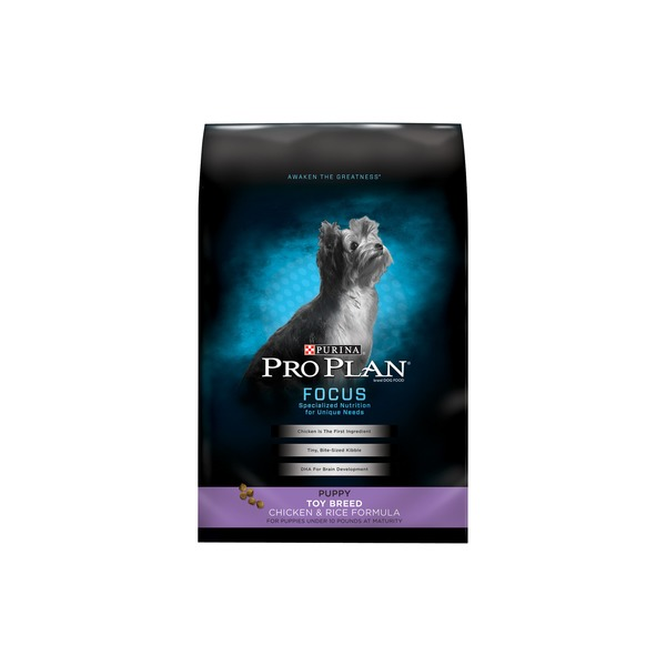 Pro Plan Dog Dry Focus Puppy Toy Breed Formula Dog Food