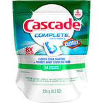 Cascade Complete with the Power of Clorox Fresh Scent Dishwasher Detergent Action Pacs
