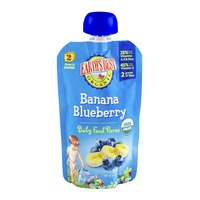 Earth's Best Organic Baby Food Puree Banana Blueberry