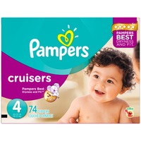 Pampers Premium Pampers Cruisers Diapers Size 4 74 count  Diapers