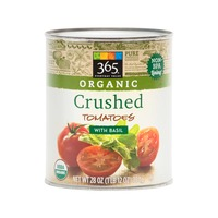 365 Organic Crushed Tomatoes With Basil