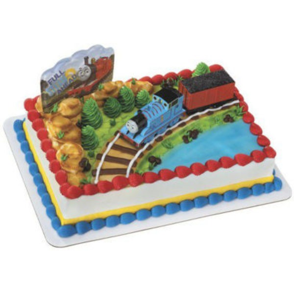 Thomas & Friends Coal Car Cake Full Sheet Cake, serves 96