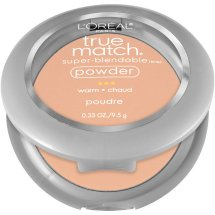 L'Oreal Paris True Match Super-Blendable Powder, W4 Natural Beige, 0.33 oz