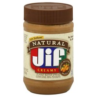 Jif Natural Jif Creamy Peanut Butter Spread