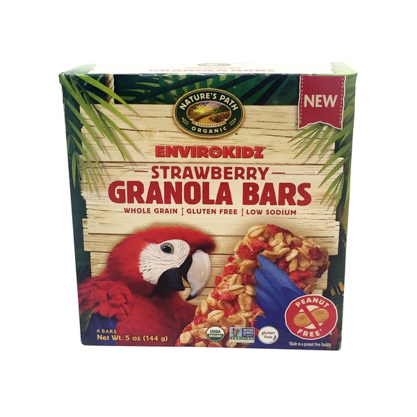 EnviroKidz Strawberry Granola Bar