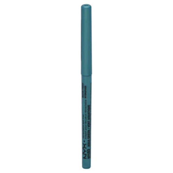 NYX Retractable Water Proof Eye Liner - Aqua Green
