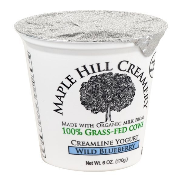 Maple Hill Wild Blueberry 100% Grassfed Yog Drink