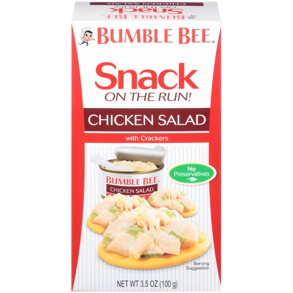 Bumble Bee Snack On The Run! With Crackers Chicken Salad