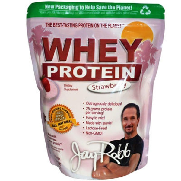 Jay Robb Strawberry Whey Protein
