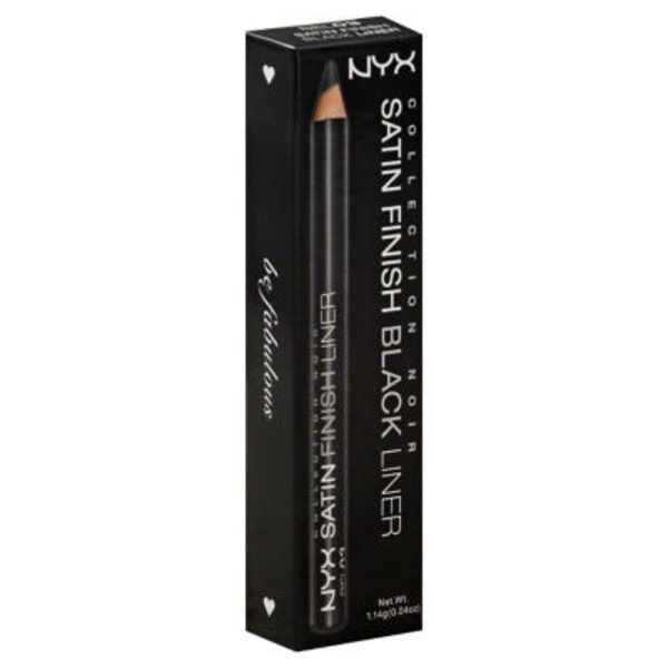 NYX Liner Satin Finish Black BEL03