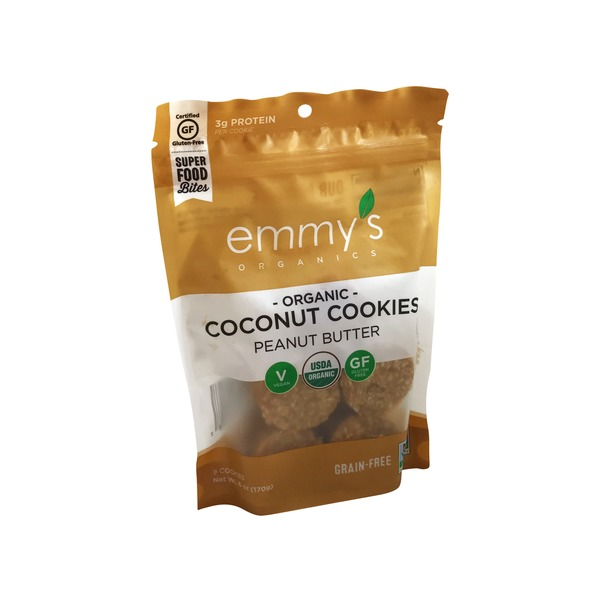 Emmy's Organic Peanut Butter Coconut Cookie
