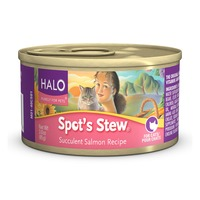 Halo Spots Stew Wild Salmon Canned Cat Food