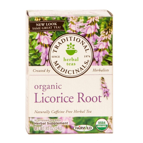 Traditional Medicinals Organic Licorice Root Herbal Tea