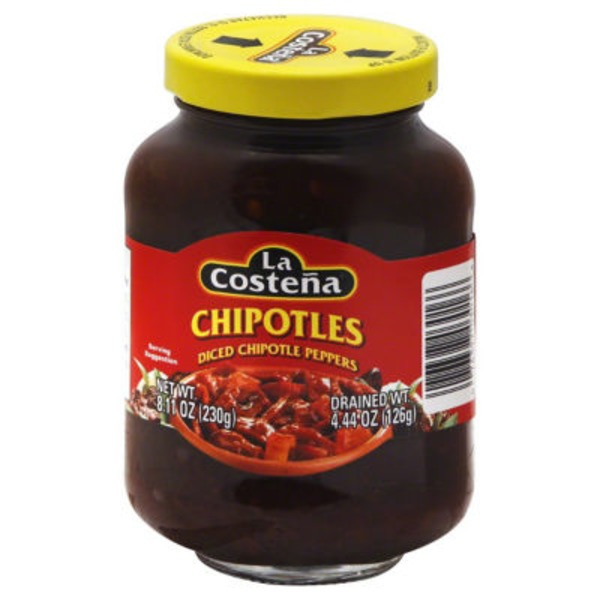 La Costeña Diced Chipotle Peppers