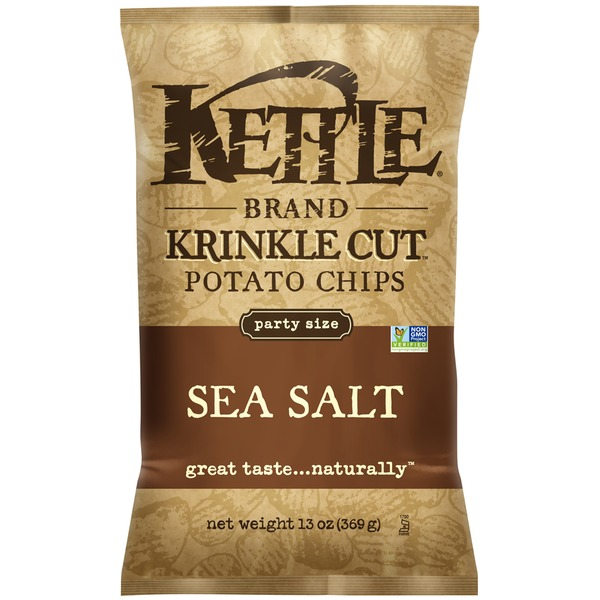Kettle Brand® Krinkle Cut Sea Salt Potato Chips