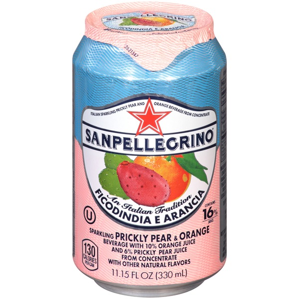 San Pellegrino Ficodindia E Arancia Sparkling Prickly Pear & Orange Beverage