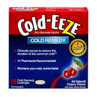 Cold-Eeze Cold Remedy Lozenges Cherry Flavor - 18 CT