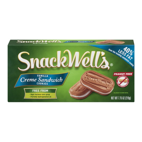 SnackWell's Vanilla Creme Sandwich Cookies