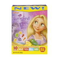 Kellogg's Disney Tangled Assorted Fruit Flavored Snacks - 10 PK