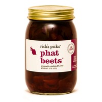 rick's picks Phat Beets Aromatic Pickled Beets