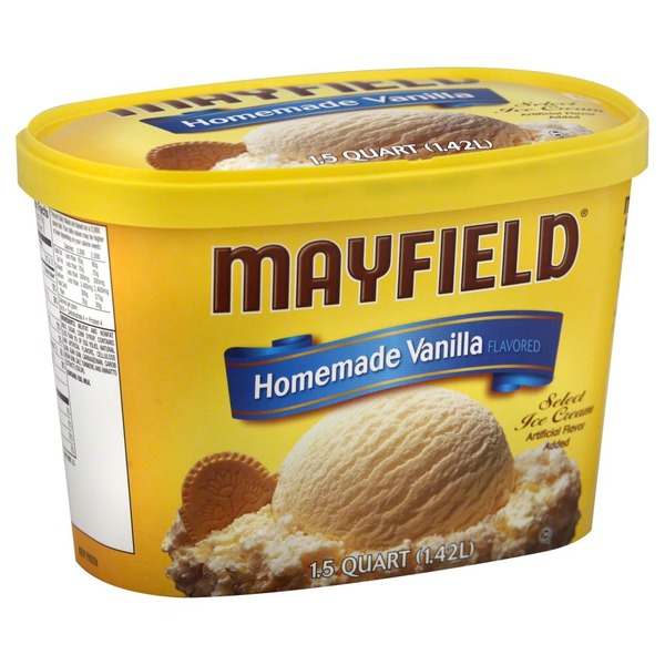 Mayfield Homemade Vanilla Ice Cream Tub