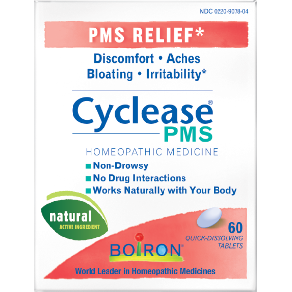 Boiron Cyclease PMS Homeopathic Medicine - 60 CT