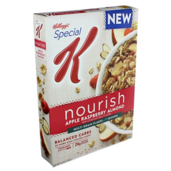 Kellogg's Special K Nourish Apple Raspberry Almond Cereal