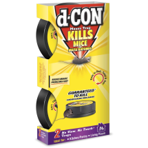 d-CON No View, No Touch Covered Mouse Trap, 2 Traps