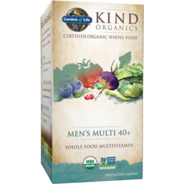 Garden of Life Kind Mens Multi 40+ V-caps