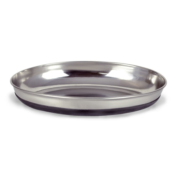 Our Pet's Oval Stainless Steel Cat Bowl 1.25 C.