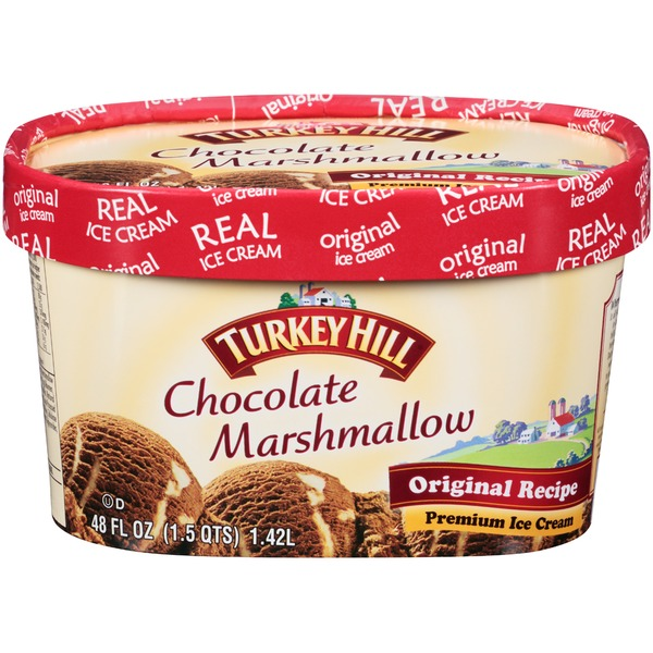 Turkey Hill Chocolate Marshmallow Premium Ice Cream