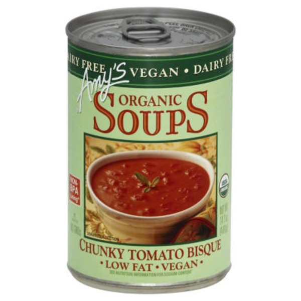 Amy's Organic Soups Chunky Tomato Bisque