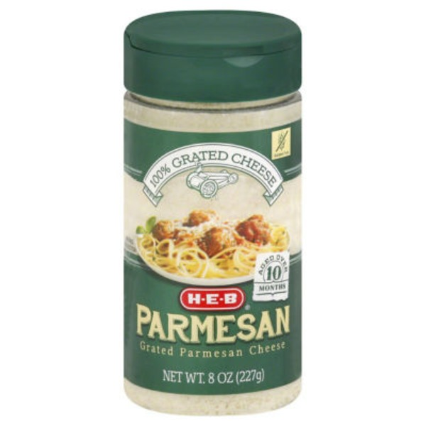 H-E-B Grated Parmesan Cheese