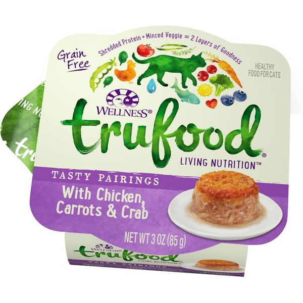 Wellness Tru Food Tasty Pairings Chicken Carrots & Crab Wet Cat Food
