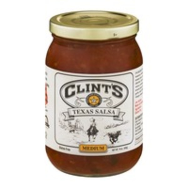 Clint's Texas Salsa Medium