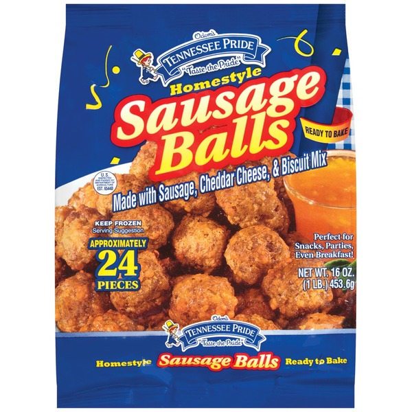 Tennessee Pride Homestyle Sausage Balls